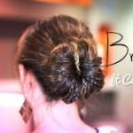 Hair Bun Updo Hairstyles-1