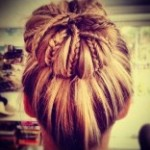 Hair Bun Updo Hairstyles-2