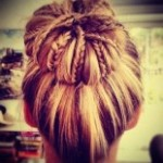 Hair Bun Updo Hairstyles-3