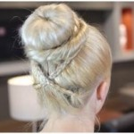 Hair Bun Updo Hairstyles-4
