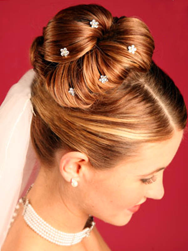 Hair Bun Updo Hairstyles