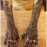 Latest Bridal Henna Mehndi Designs-1