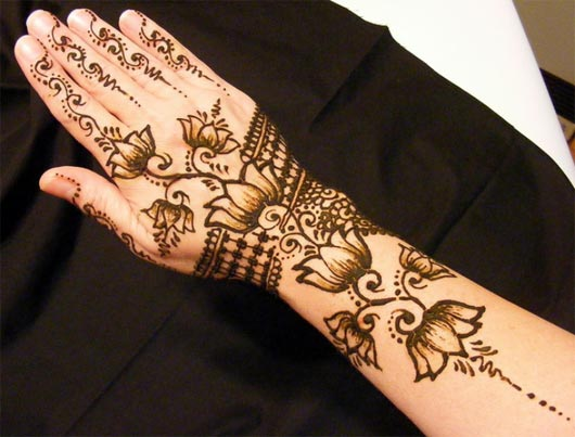 Latest Bridal Henna Mehndi Designs Latest Nail Art & Mehndi Designs 2013 by Hadiqa Kiani