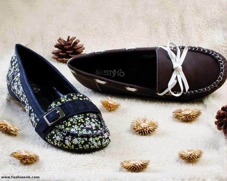 Latest Stylo Winter Shoes Collection For Women Borjan Summer Shoes 2013 Collection for Women