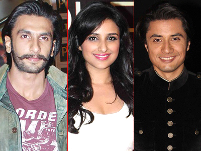 Ali Zafar Ranveer Singh Parineeti Chopra Casted for Kil Dil Honey Singh Sings in Besharam (2013) for Ranbir Kapoor