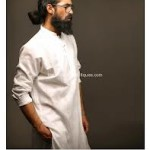 Bareeze Winter Men Kurta designs 2013-1