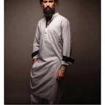 Bareeze Winter Men Kurta designs 2013-4