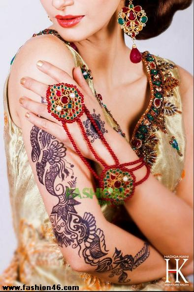 Latest Nail Art & Mehndi Designs 2013 by Hadiqa Kiani