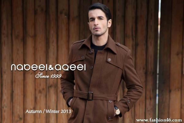 Mens Winter Fashion 2013 by Nabeel and Aqeel