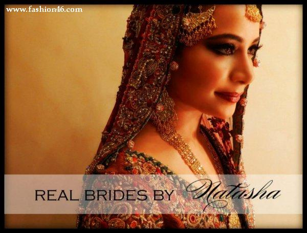 Natasha Saloon Latest  Bridal Makeup Shoot 2013
