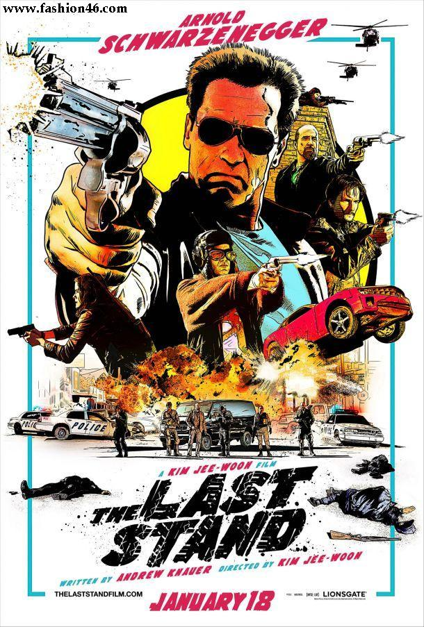 New Movie The Last Stand Comic Poster