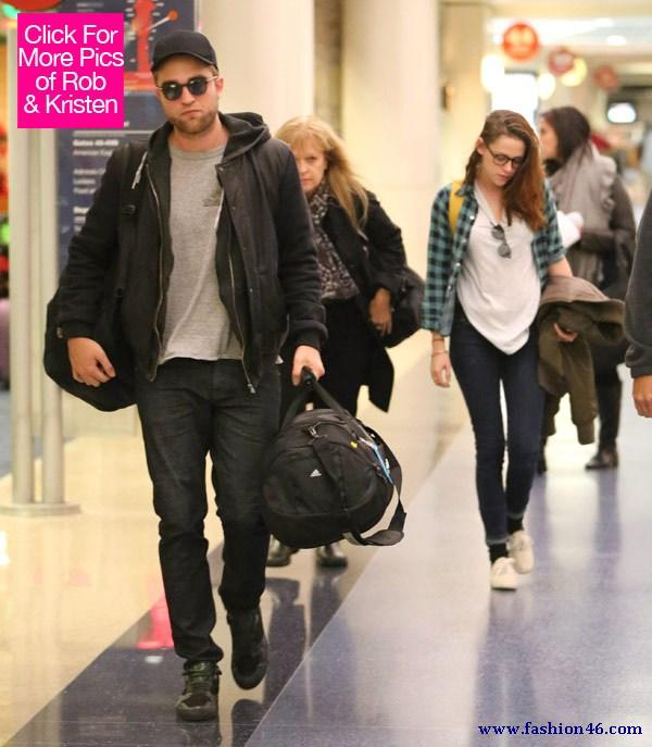 Robert Pattinson & Kristen Stewart Fights In London