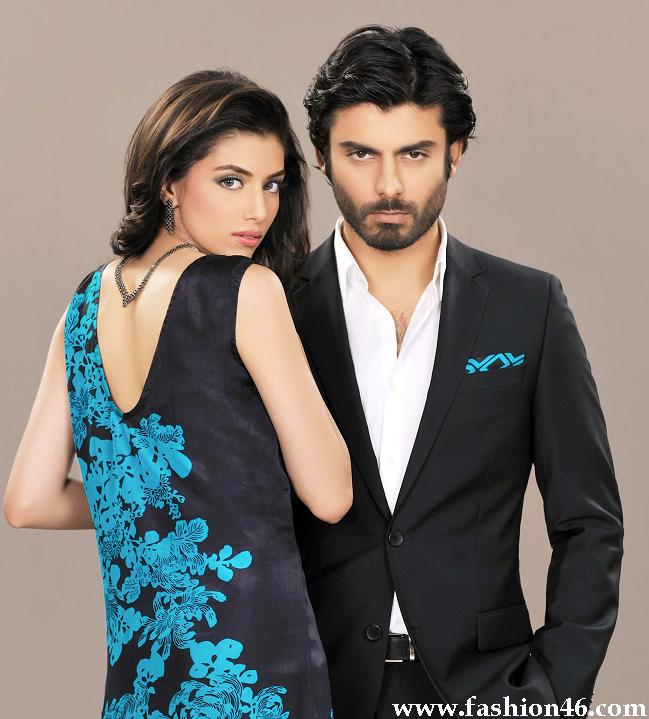 Winter Collection 2013 of Silk by fawad Khan