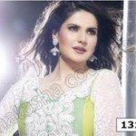 Zarine Khan Latest Women Saree Designs 2013-13