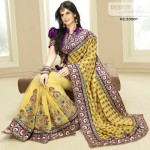 Zarine Khan Latest Women Saree Designs 2013-15