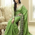 Zarine Khan Latest Women Saree Designs 2013-16