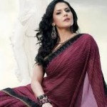 Zarine Khan Latest Women Saree Designs 2013-17