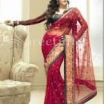 Zarine Khan Latest Women Saree Designs 2013-18