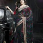 Zarine Khan Latest Women Saree Designs 2013 4 150x150 Zarine Khan Latest Women Saree Designs 2013