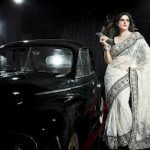 Zarine Khan Latest Women Saree Designs 2013-7