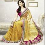 Zarine Khan Latest Women Saree Designs 2013-8