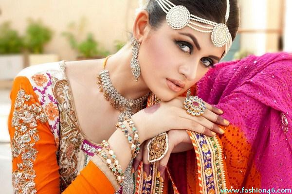 Anum Yazdani Bridal Jewellery Fashion Sets 2013 Jewellery Fashion Collection 2013 By Waseem Jewellers