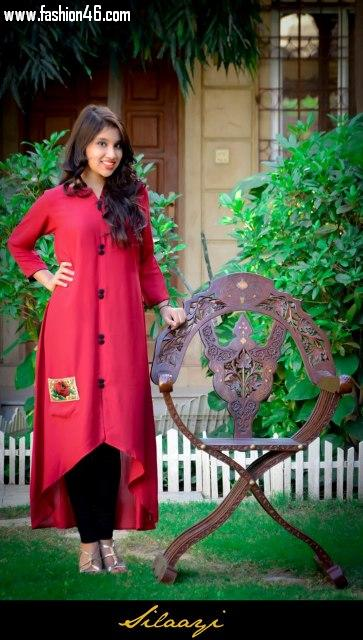 Beautiful Silaayi Outfits Kurta fashion 2013 for Ladies
