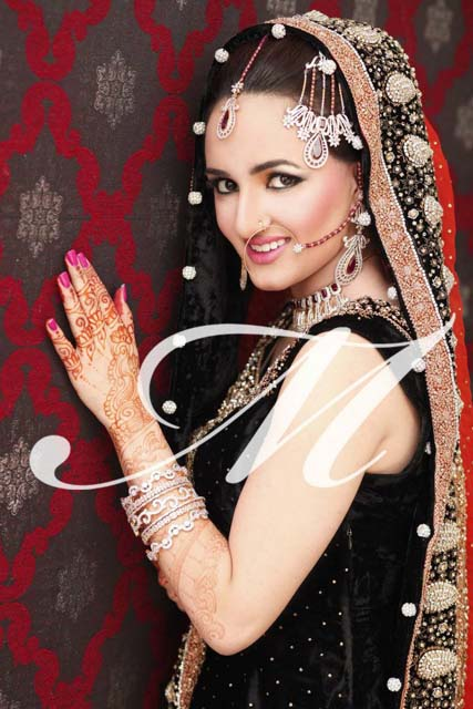 Bridal Makeup fashion by Madeeha Salon 2013