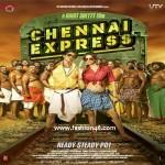 Chennai Express! SRK & Deepika Padukone in lungi
