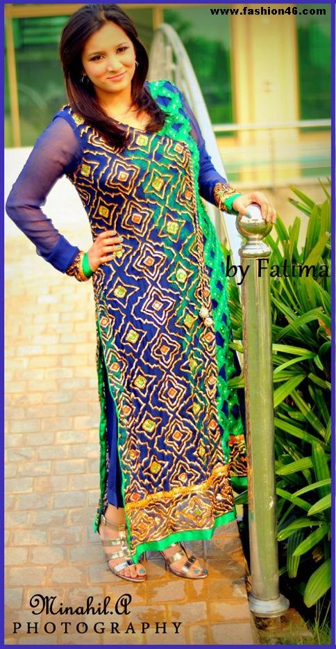 Latest dresses, latest fashion news, formal outfits by Fatima S&ee, fatima s & ee, formal outfits, formal outfits 2013 collection, casual dress outfit, casual dress for women, casual clothes for women, black formal wear, beautiful clothes, 2013 women fashion, amazing dresses, 2013 outfits, 1st birthday outfits for girls