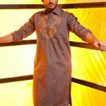Latest Men's Kurta Collection 2013 by Fahad and Deepak-10