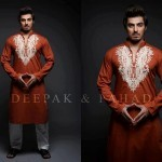 Latest Men's Kurta Collection 2013 by Fahad and Deepak-12