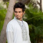 Latest Men's Kurta Collection 2013 by Fahad and Deepak-14
