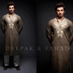 Latest Men's Kurta Collection 2013 by Fahad and Deepak-18