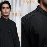 Latest Men's Kurta Collection 2013 by Fahad and Deepak-3