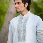 Latest Men's Kurta Collection 2013 by Fahad and Deepak-4