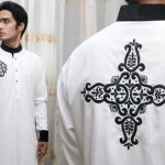 Latest Men's Kurta Collection 2013 by Fahad and Deepak-5