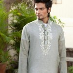 Latest Men's Kurta Collection 2013 by Fahad and Deepak-7