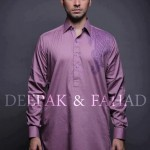 Latest Men's Kurta Collection 2013 by Fahad and Deepak-9