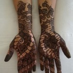 Newest Mehndi Designs 2013 For Girls-5