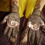 Newest Mehndi Designs 2013 For Girls-7