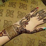 Newest Mehndi Designs 2013 For Girls-8