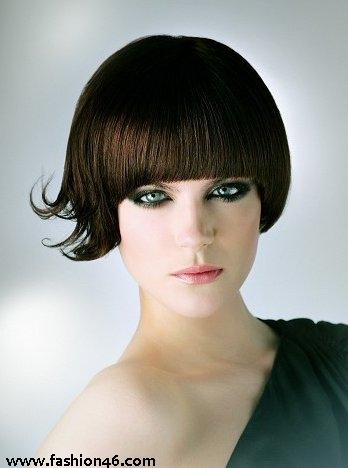 Popular Apple Cut Hair styles