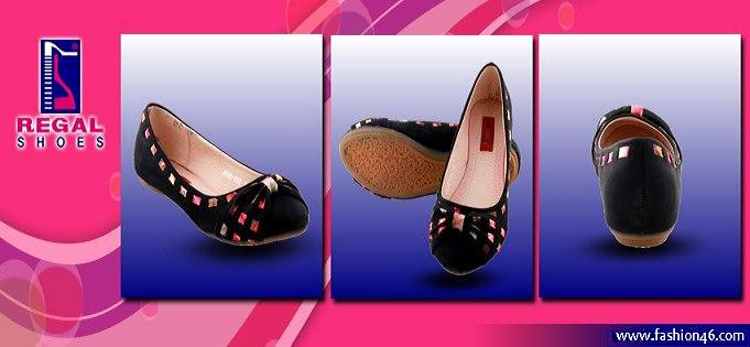Regal Shoes Latest Winter Footwear 2013 For Women Unze New Flat Sandals Collection 2013 for Ladies