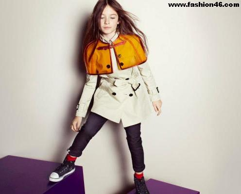 Spring Summer Collection 2013 by Burberry For Kids