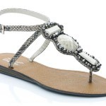 Unze New Flat Sandals Collection 2013 for Ladies-10