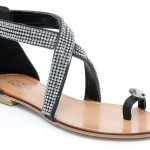 Unze New Flat Sandals Collection 2013 for Ladies-2