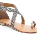 Unze New Flat Sandals Collection 2013 for Ladies-3