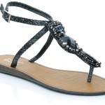 Unze New Flat Sandals Collection 2013 for Ladies-5