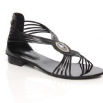 Unze New Flat Sandals Collection 2013 for Ladies-6